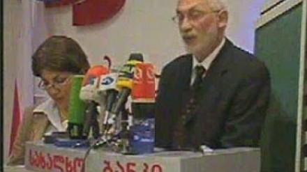 Gregory Saitas in Tbilisi